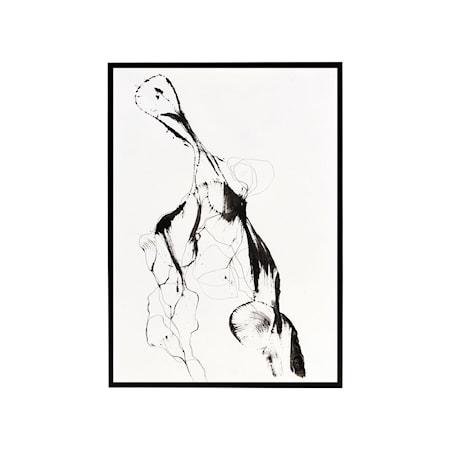 Ballet Illustration med Ram