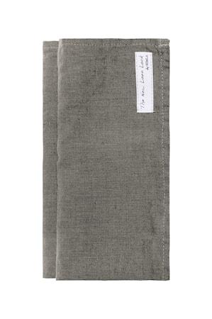 Servett Sunshine charcoal 45x45 4-pack
