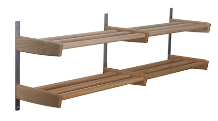 Oscarssons Möbel Meja skohylla 115cm 2-plan