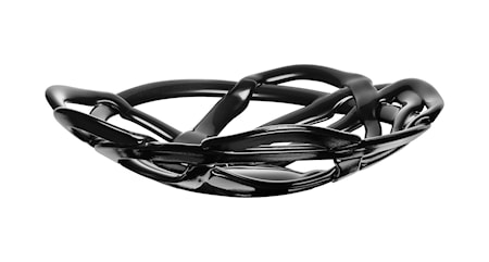 Kosta Boda Basket musta Kulho Ø 38,5 cm
