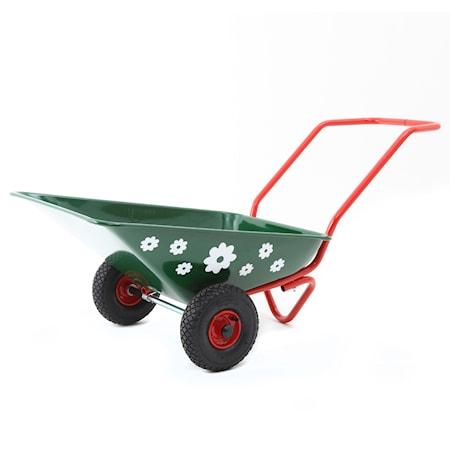 Hörby bruk Skottkärra Hörby Bruk Ekeby Täppan lufthjul – Grön/Röd