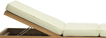 Ethimo Essenza lounge bed Patja - Ivory