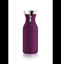 Kylskåpskaraff med lock och neopren Dark purple 1,0 l