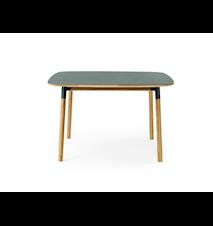 Form Bord Grön/Ek 120x120 cm