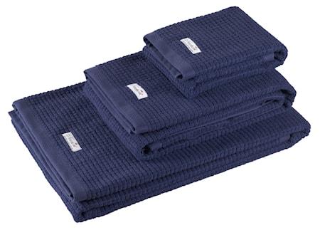 Newport Collection Fisher Island handduk blå 100 cm 150 cm