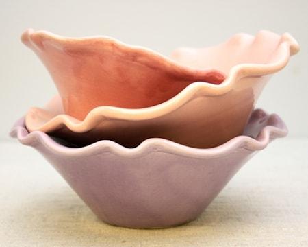 Gerbera Provence Skål Rosa 28x8,5 cm thumbnail
