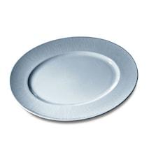 Fat Oval 33cm Colormix Blå