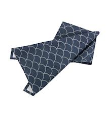 Handduk japanese blå/grå