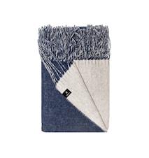 Lammullspläd Vincent 130x170cm Bläckblå