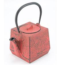 Tekanna Chiba, röd, 0,75 l