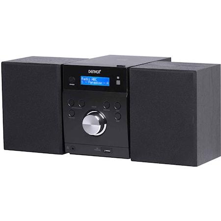 Microsystem CD, Dab+/FM-radio