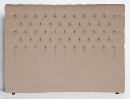 Mille Notti Paula sänggavel Canvas Grå, 90 cm