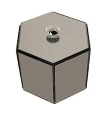 Mixbox Hexagonal Glasknopp