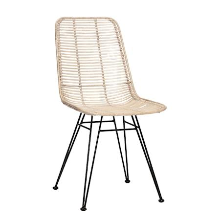 Hübsch Studio stol - Whitewash