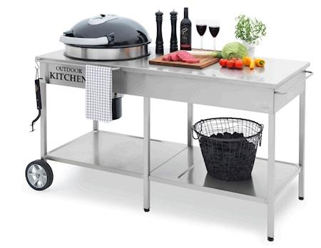 Utekök Contura steel basic med diskho och grill