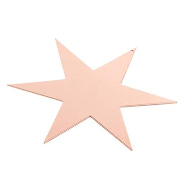 Stjärna 17cm, koppar