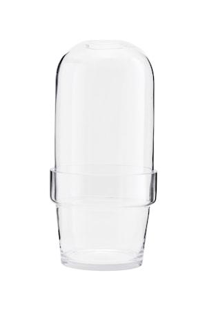 Glaskupa Bell Ø 18,5x25 cm - Klar
