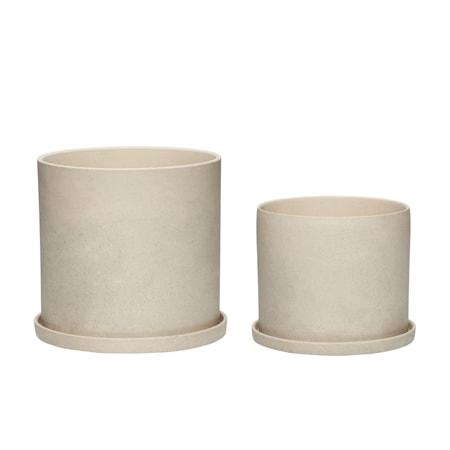 Kruka Keramik Sand 2 st