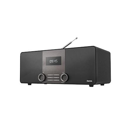 Hama DAB+ FM BT Digitaaliradio DR1510 Musta