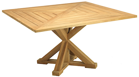 Ethimo Cronos fyrkantigt matbord