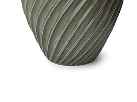 Vase River 26 cm gråblå Morsø