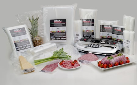 SICO Kitchenware Vakuumipusseja 70x70 cm 50 kpl