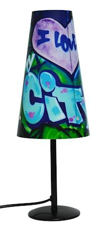 Bilde av PR Home Lampe Grafitti City 38cm