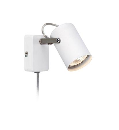 Bilde av Markslöjd Key Vegglampe Hvit/Stål