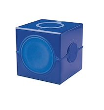 Cube Badrumsradio Blå