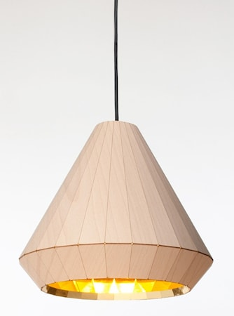 Bilde av David Derksen Design WL-25 Wooden light taklampe