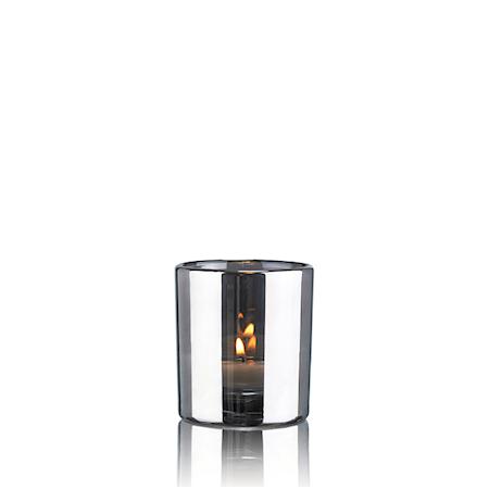 Skogsberg & Smart Hurricane lamp silver - Small