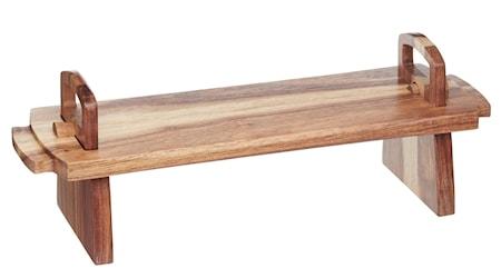 Kitchen Craft Antipastibræt Akacietræ Stor
