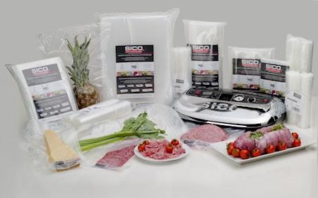 SICO Kitchenware Vakuumipusseja 45x50 cm 50 kpl