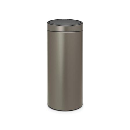 Brabantia Touch Bin NEW plastinnerhink 30 L Platinum