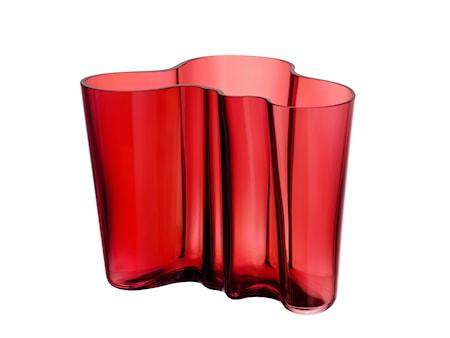 Bilde av Aalto Vase Tranebær 160 mm