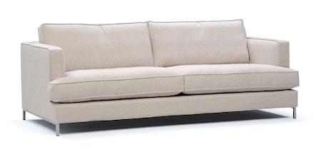 Interface Villa 2,5-sits soffa ? Metallben Svart
