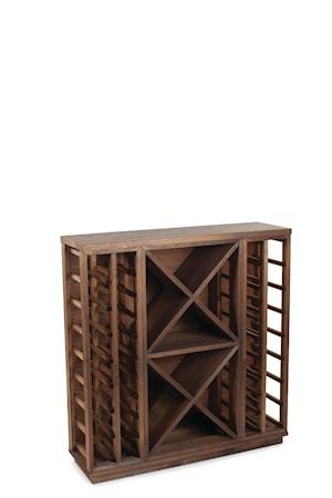 Traditional Wine Racks Solid Redwood Furniture Base Tumma Tammi