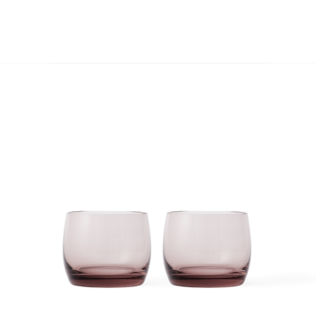 AB/C Munblåst Vattenglas Burgundy 28cl 2-Pack