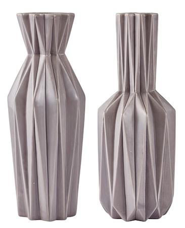 Bilde av KJ Collection Vase Grå 40,5 cm