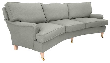 Allinwood Howard svängd 3-sits soffa ? Ljusgrå