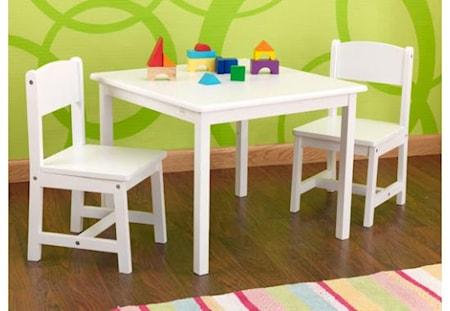 Kidkraft Aspen bord & stolar-set