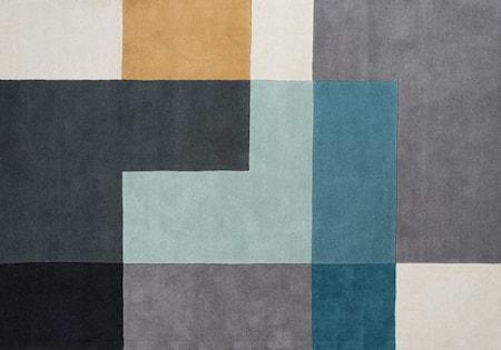 Tetris Matta Aqua 140x200 cm