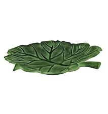 Fat, litet i form av blad, bronserat