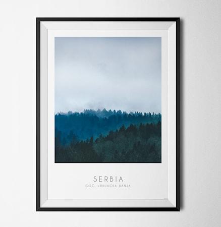 Bilde av Konstgaraget Photo art Serbia poster