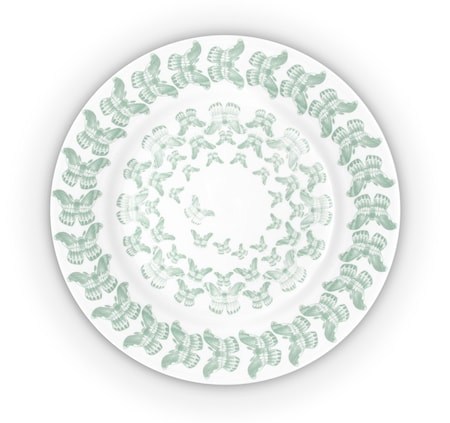 Anitha Schulman Porslin Butterplate medium tallrik