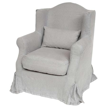 Ib Laursen lenestol i soft grå thumbnail