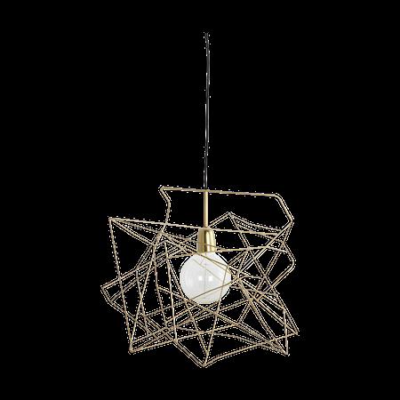 House Doctor Epäsymmetrinen lampunvarjostin, kulta 45x45 cm