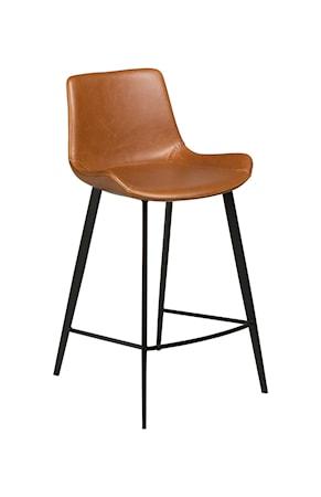 Dan Form Denmark Barstol Hype 91 cm Konstläder - Vintage Ljusbrun