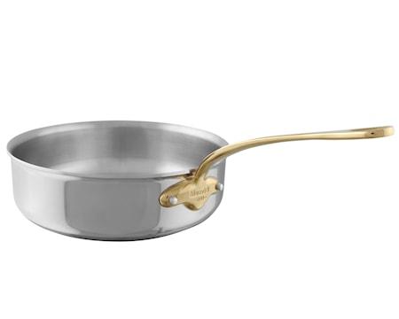 Cook Style sautépanna stål/mässing 20 cm