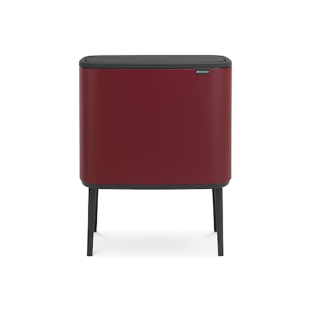 Brabantia Bo Touch Bin, 36L, Mineral Windsor Punainen